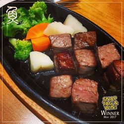 [Sushi Tei] Congratulations to @iinzpunii for being our May winner of our 'Snap, Tag & Win' Contest!