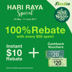 [Bata Shoe Singapore] Shop & Save Big this Ramadan!