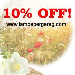[Lampe Berger] Kick start GSS with 10% OFF all items on www.
