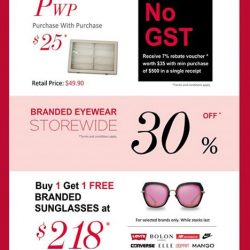 [Eyechamp Flagship] Unleash your shopping desire with our Great Singapore Sale.