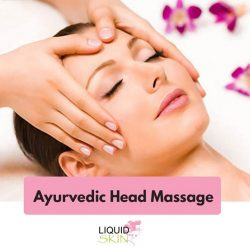 [Liquid Skin] Free yourself from stress by giving yourself an Ayurvedic head massage!