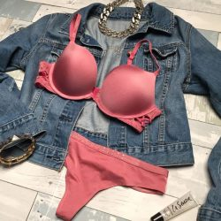 [La Senza Singapore] This dusty pink shade has got us swooning 😱💓 Enjoy Bras at only $33 when you buy a minimum of 3