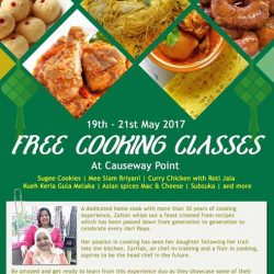 [MAYER] Free Cooking Class during this May!