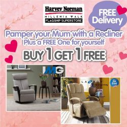 [Harvey Norman] Your mother deserves a special treat this MothersDay and you get to pamper yourself too!