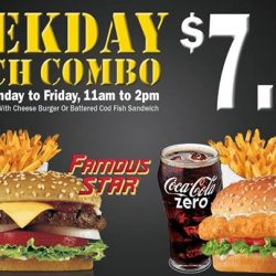 [Carl's Jr.] Weekday Lunch Combo is back!