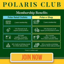[Polar Puffs & Cakes Singapore] Introducing our new card-less Polaris membership programme.