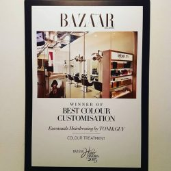 [Essensuals Hairdressing] Our past achievement in Harper's Bazaar magazine.