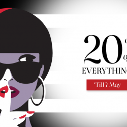 [SEPHORA Singapore] SephoraPrivateSale2017: Sephora Gold and Black Members, enjoy 20% off ALL brands now through 7 May (11:59pm) online and in
