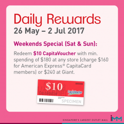 [IMM] GSS Weekends Special x June Holidays!