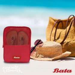 [Bata Shoe Singapore] Scenario 3: The Beach A place for family fun, gossiping away with friends and getting your feet wet.