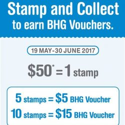 [BHG Singapore] Rewards with your shopping exclusively at BHG Jurong (JP1)!