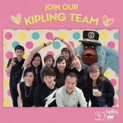 [Kipling] Join us and be a part of our Happy Team!