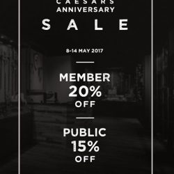 [Caesars] We celebrate our birthday anually by giving good deals to our supporters!