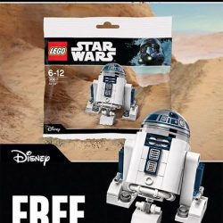 [The Brick Shop] FREE* LEGO® STAR WARS™ R2-D2™ when you spend $80 nett and above in a single receipt on any LEGO®