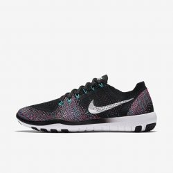 [Nike Singapore] The Nike Free Focus Flyknit 2 Women's Training Shoe $199  features an innovative sole that expands and contracts with
