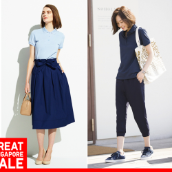 [Uniqlo Singapore] Feminine and comfortable, these essentials are perfect pieces for work or play.