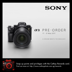 [Cathay Photo] Pre-order for SonyAlpha A9 is now open!