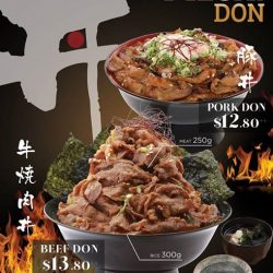 [Sumire Yakitori House] MEGA DON 🔥🔥🔥are available tomorrow Pork & Beef Don for Lunch Time💯