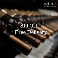 [Wine Connection] Receive a promo code when you sign up for our mailing list to get $10 off and free delivery* on