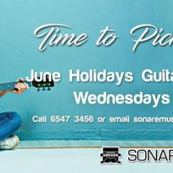 [Sonare Music School] Check out all the June Holiday programs we have to offer this year, maybe sign-up for one, two or