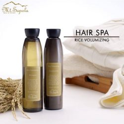 [Mt. Sapola] Tips for fuller hair: massaging your scalp helps with blood circulation for better hair growth.