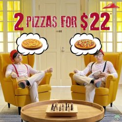 [Pizza Hut Singapore] You get a bonus of free sides in our 2-For-$22 deal!