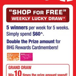 [BHG Singapore] SHOP FOR FREE!