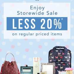 [Precious Thots] Enjoy 20% Off on regular priced Ashlyn Anne items.