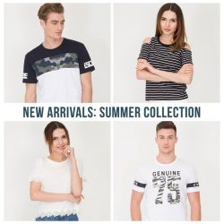 [Bossini Singapore] Get summer-ready with our new arrivals available at Bossini Singapore!