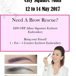[Allure Beauty Saloon] Live Demo at City Square Mall!