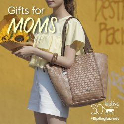 [Kipling] The perfect tote for the stylish mum on-the-go.