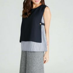 """[MOSS] Outfit plan for TGIF👗👖👚Shop """" SAVANNAH TOP IN NAVY """" @http://www."""