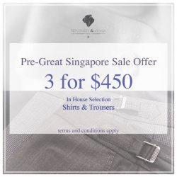 [Mr. Bull & Sons] Enjoy our latest spring promotion :) For those of you who's been working too hard.