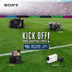 [Cathay Photo] Kick off your holiday shopping spree with Sony's Mid-Year Promotion, from now until 26 June 2017!