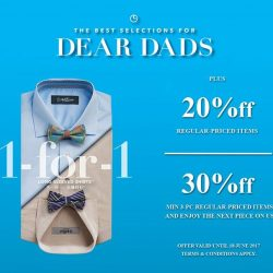 [Goldlion] Update Dad's wardrobe with stylish essentials this Father's Day!