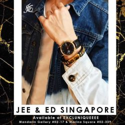 [Excluniqueeee] Be the stylish gentleman with this bracelet from @jeenedsingapore !