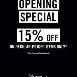 [Dr Martens] Enjoy a Special Opening promotion on our new location at The Wheelock Place today.