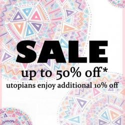 [Utopia] The only sale of the year starts today at all stores!