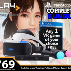 [GAME XTREME] PSVR Complete Bundle【PROMO DURATION】 While Stocks Last【DETAILS】 Why buy the PSVR items separately when you can get the