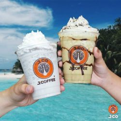 [J.Co Donuts & Coffee] Chill out this Tuesday (30th May) with our 1 for 1 beverage promotion!