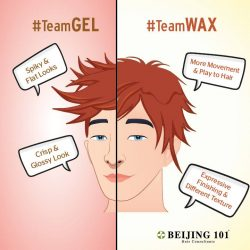 [Beijing 101] Are you TeamGEL or TeamWAX ?