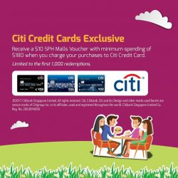 [The Clementi Mall] Receive a $10 SPH Malls voucher when you charge a min.