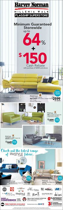 [Harvey Norman] No matter the season, we have all that you need for your home at HarveyNormanSG!