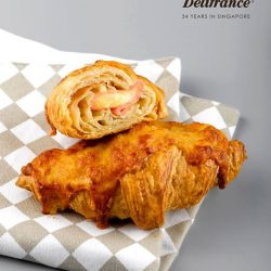 [Delifrance Singapore] Get our mini chicken ham and cheese croissants at only $32 for 12 pieces!