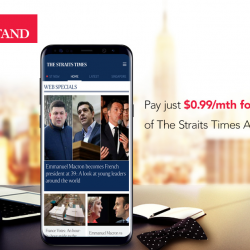 [Singtel] Subscribe to The Straits Times All-Digital at just $0.