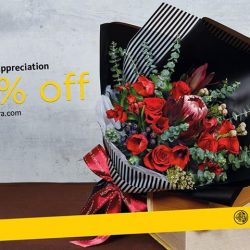 [Maybank ATM] If you have yet to purchase flowers for Mother's Day, now is not too late!