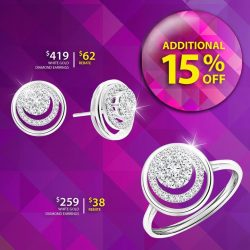 [Taka Jewellery Treasures] Great bargain to match your daily outfit.