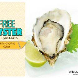 [Nihon Mura Express] Do you fancy a FREE fresh and juicy oyster?