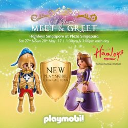 [Hamleys of London] Join us on 27-28th May, Hamleys Anniversary Sale at Plaza Singapura for mascot appearances by Playmobil!
