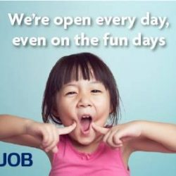 [Jem] 02-15, UOBDo you know that UOB Jem Branch offers full banking services from 12pm to 4pm even on